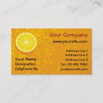 Halve Orange Business Card