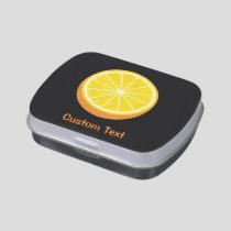 Halve Orange Candy Tin