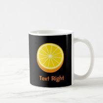 Halve Orange Coffee Mug