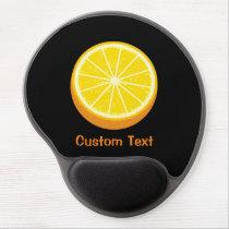 Halve Orange Gel Mouse Pad