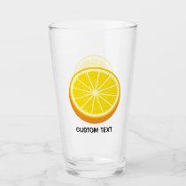 Halve Orange Glass