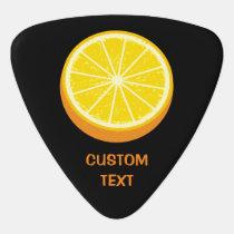 Halve Orange Guitar Pick