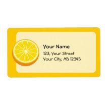 Halve Orange Label