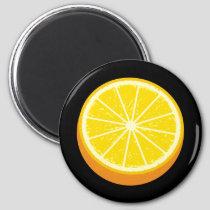 Halve Orange Magnet