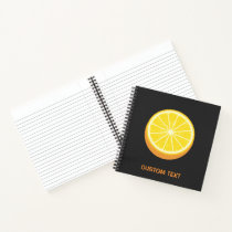 Halve Orange Notebook