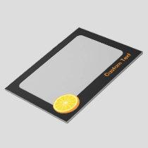 Halve Orange Notepad
