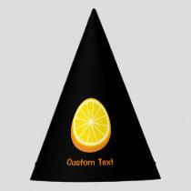 Halve Orange Party Hat