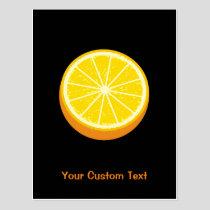 Halve Orange Postcard