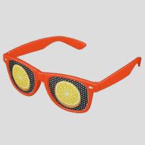 Halve Orange Retro Sunglasses