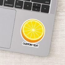 Halve Orange Sticker