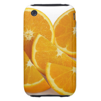 Halves and quarters of ripe, juicy, sweet iPhone 3 tough cover