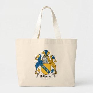Halyburton Family Crest Tote Bags