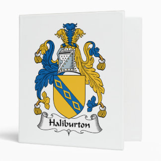 Halyburton Family Crest Binder
