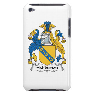 Halyburton Family Crest Barely There iPod Covers