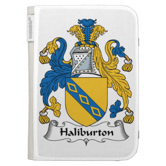 Halyburton Family Crest Case For The Kindle