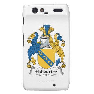Halyburton Family Crest Droid RAZR Case