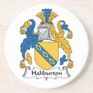 Halyburton Family Crest Coaster