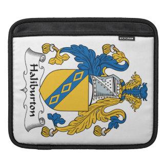 Halyburton Family Crest Sleeve For iPads