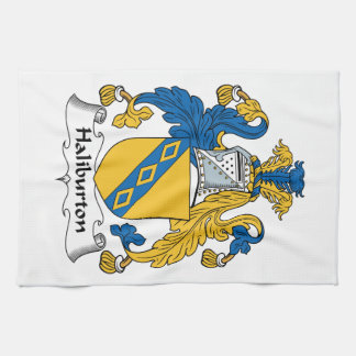 Halyburton Family Crest Hand Towels