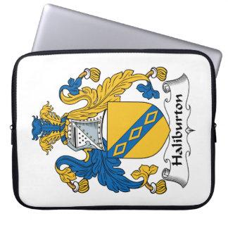 Halyburton Family Crest Laptop Sleeves