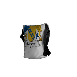 Halyburton Family Crest Courier Bag