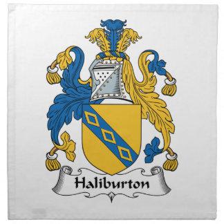 Halyburton Family Crest Cloth Napkins