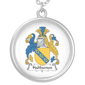Halyburton Family Crest Necklace
