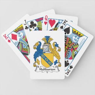 Halyburton Family Crest Poker Deck