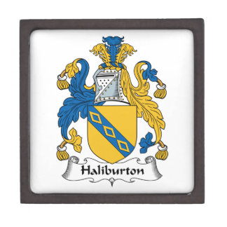 Halyburton Family Crest Premium Gift Boxes