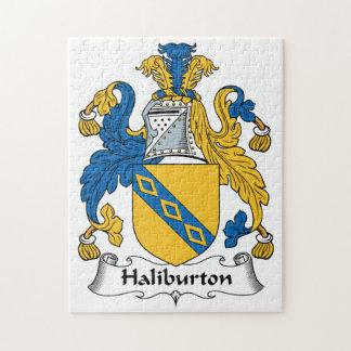 Halyburton Family Crest Jigsaw Puzzles