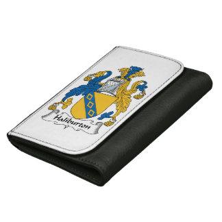 Halyburton Family Crest Wallet For Women