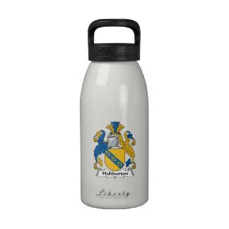 Halyburton Family Crest Water Bottle