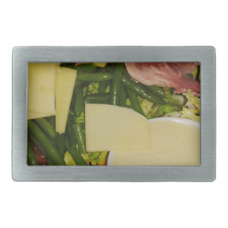 Ham and Cheese Salad Belt Buckle