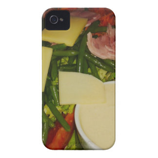 Ham and Cheese Salad iPhone 4 Cover