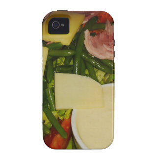 Ham and Cheese Salad Case-Mate iPhone 4 Cases