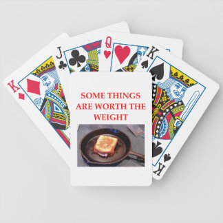 ham and cheese sandwich bicycle playing cards