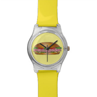 Ham and Cheese Sub Submarine Sandwich Hoagie Watch