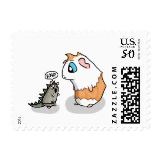 Ham and Piggy roar Postage