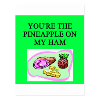 HAM and pineapple lovers Postcards