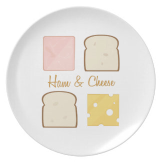 Ham & Cheese Party Plate