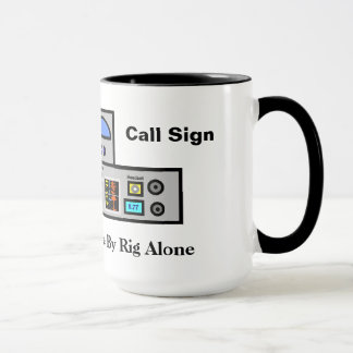 Ham Does Not Live By Rig Alone Mug