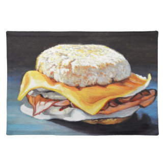 Ham, Egg and Cheese English Muffin Placemat