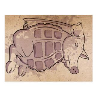 Ham-Grenade Postcard
