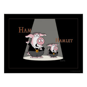 HAM/HAMLET poster by Sandra Boynton