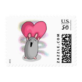 Ham heart postage