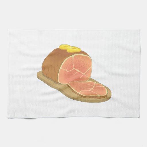 Ham Kitchen Towel
