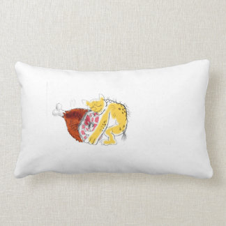 ham lover lumbar pillow
