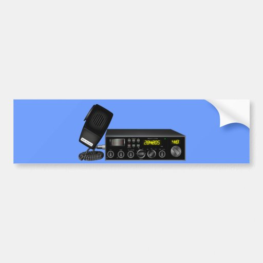 Ham Radio Bumper Sticker
