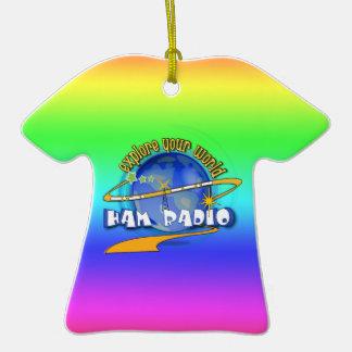 HAM RADIO - EXPLORE YOUR WORLD ORNAMENT