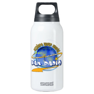 HAM RADIO - EXPLORE YOUR WORLD 10 OZ INSULATED SIGG THERMOS WATER BOTTLE